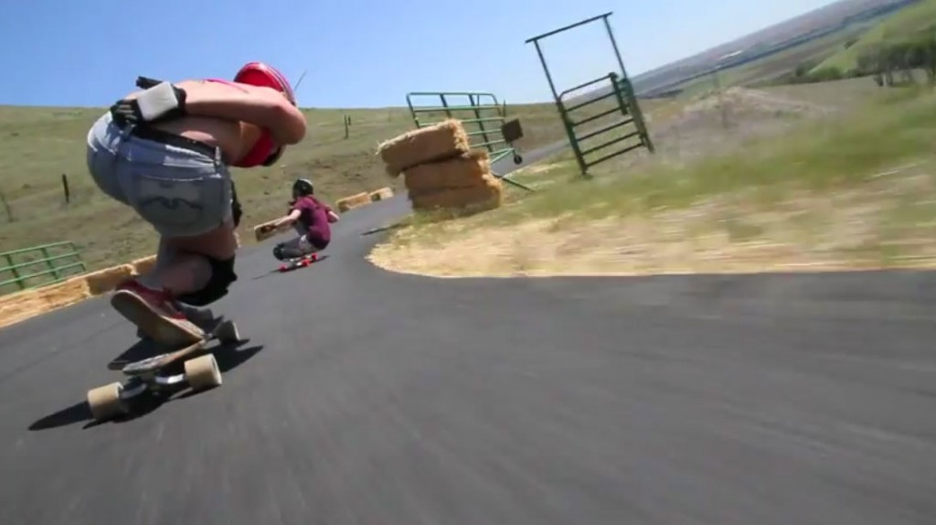 Downhill babes Maryhill freeride