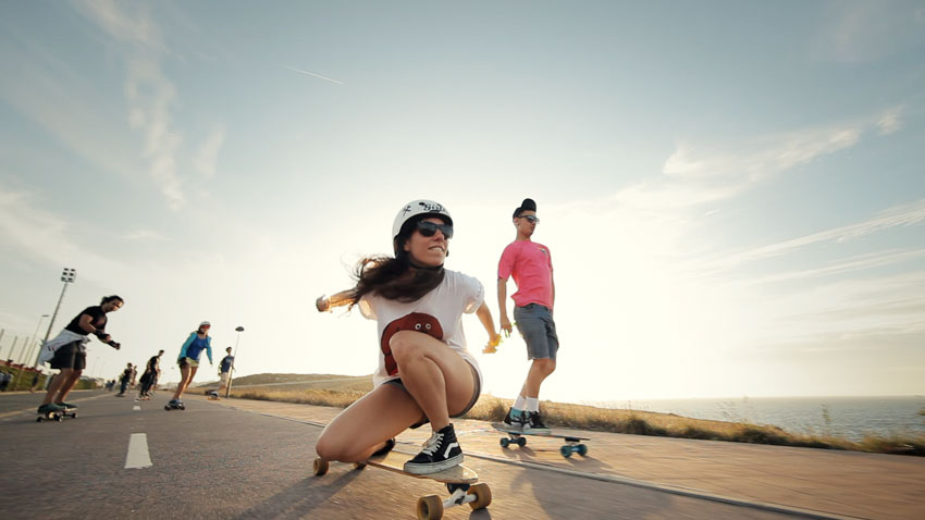 endless road 4 costa da norte longboard girls crew
