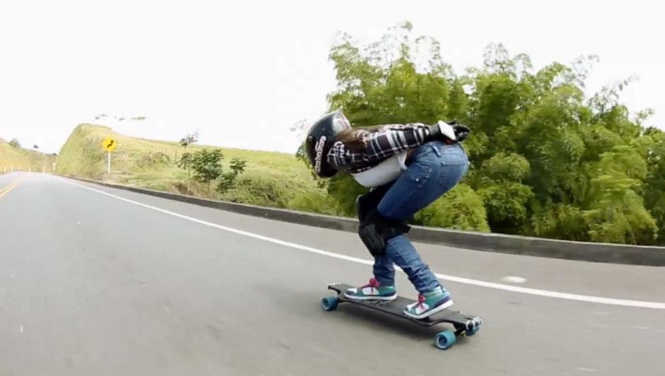 Landy Love Longboard girl