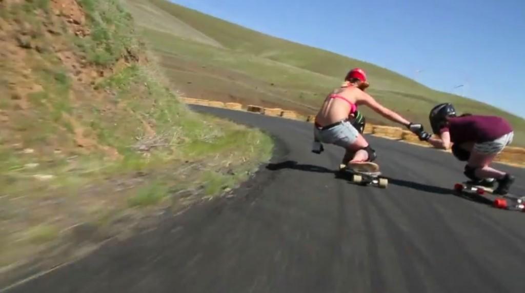 longboard babes Maryhill freeride