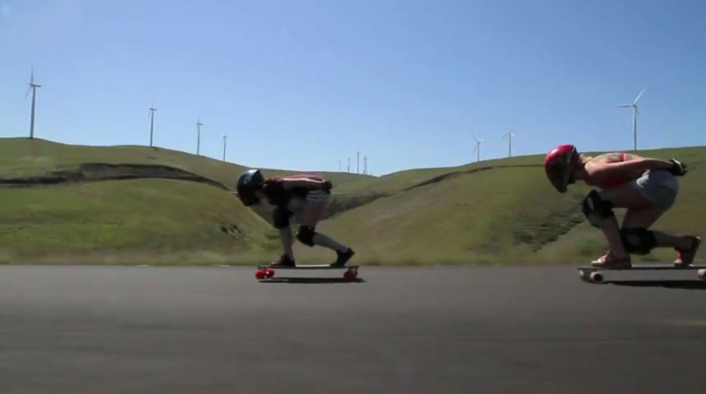 longboard girls Maryhill freeride 2012