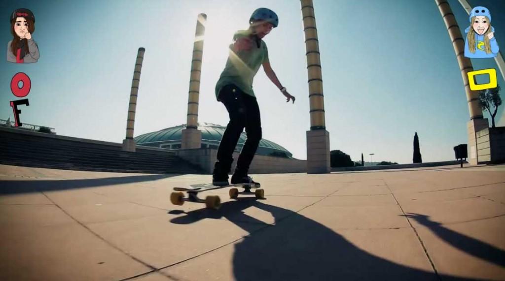 longboard girls barcelona offline