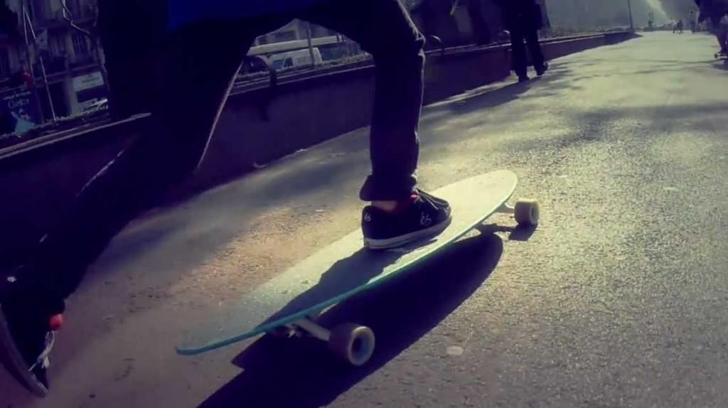 offline barcelona longboard girls